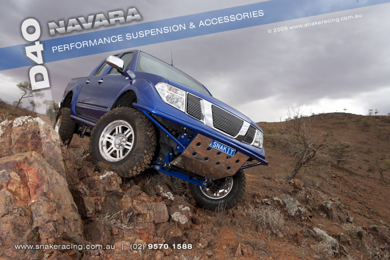Nissan D40 Navara Accessories Snake Racing 4x4