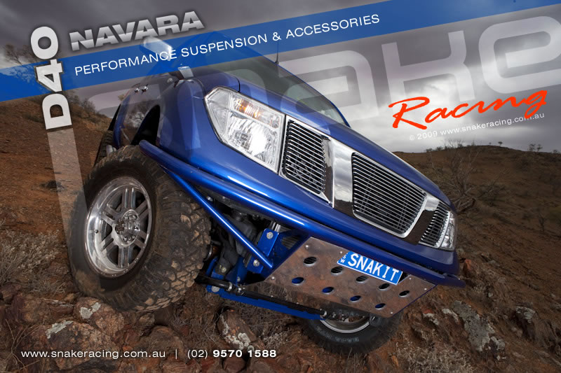 D40 Navara Project Build Snake Racing 4x4