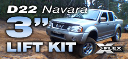 Navara Suspension Lift Kit