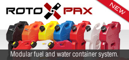 RotopaX Fuel Containers