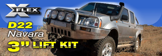 Nissan 3 inch D22 Navara Lift Kit