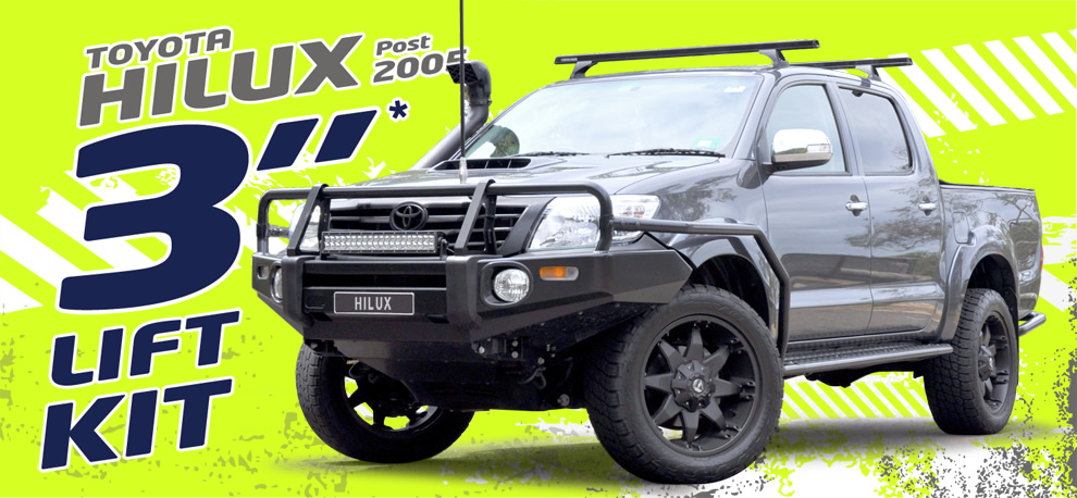 Post 2005 Toyota Hilux Suspension