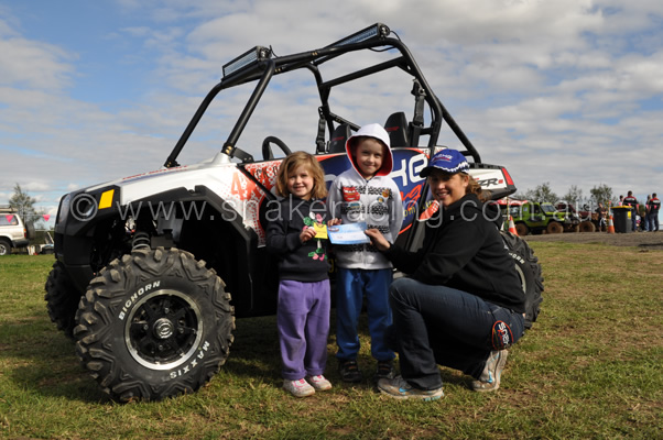 Polaris RZRs and Krystal from Snake Racing at Australian 4x4 Masters Series