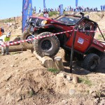 Paul Harris Toyota Bundera on track at Snake Racing sponsored 4x4 Masters Series R4