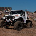 Michael Chote's Toyota Landcruiser on track at 4x4 Masters Series