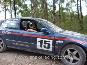 Dylan Grant in Honda Civic at Ringwood Khanacross State Round 2 hosted by MG Car Club