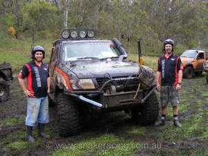 Nissan GU beast at Logan Challenge 4WD event