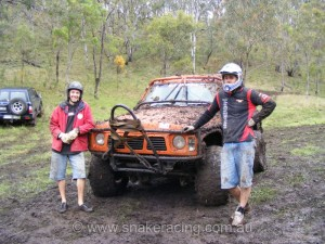 Jason Bond GQ Shorty Patrol at Logan Challenge 4WD Event