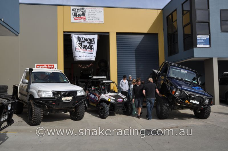Snake Racing Polaris RZR S on display at the Tough Dog Tuff Truck Challenge DVD launch at Opposite Lock