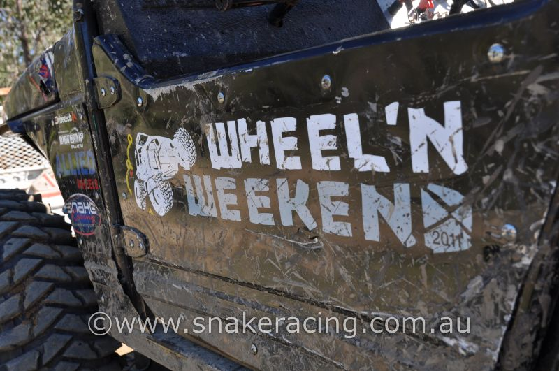 Rhett Bryant Gympie Off Road Suzuki Sierra Winter Wheeln Weekend sticker