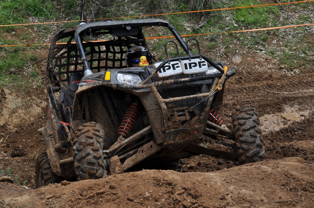 Polaris RZR racing winch challenge Manilla Tamworth