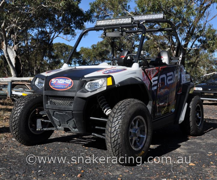 Snake Racing Polaris RZR S at Cataract Scout Park for NSW Khanacross
