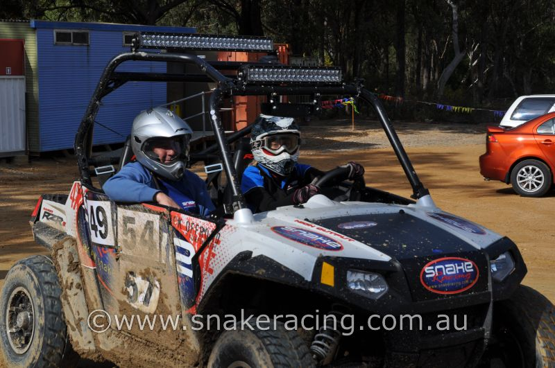 Krystal from Snake Racing in Polaris RZR at Khanacross hosted by Westlakes Automobile Club