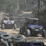 Polaris XP 900 and RZR S at Khanacross off road racing