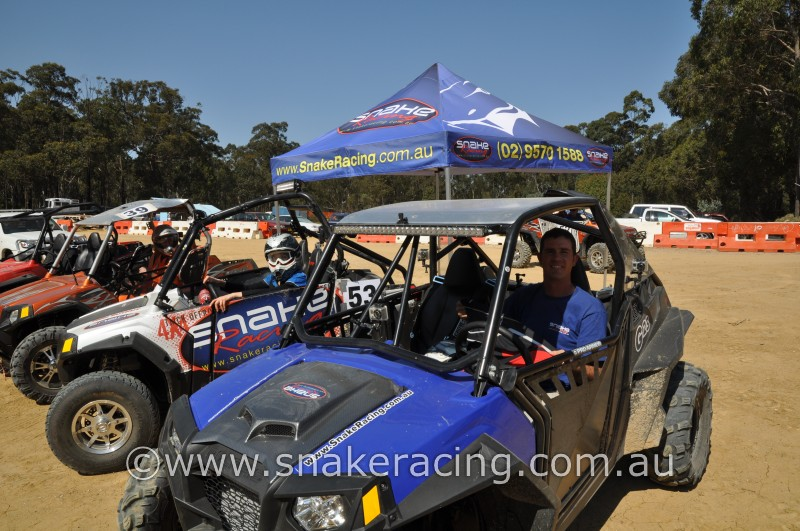 Snake Racing Blue Polaris XP 900 and RZR S at NSW Westlakes Automobile Club Khanacross