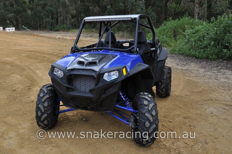 Polaris Industries UTV XP 900 in blue for Polaris racing