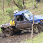 Toyota Landcruiser at Logan Challenge 4WD event