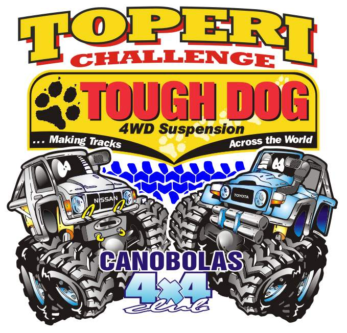 Canobolas 4x4 Toperi Challenge in Orange NSW logo