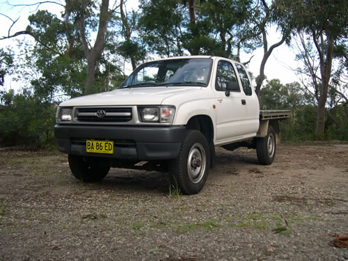 Project Toyota Ifs Hilux Snake Racing 4x4