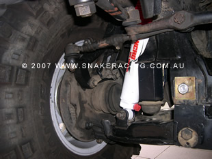 "2007 Toyota Hilux 4"" Lift Kit"