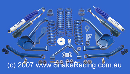 Auto Link Racing Suspension on Suzuki Vitara 3  Lift Kit   Snake Racing   4x4 Accessories  Suspension