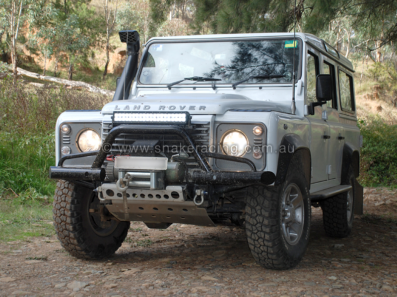 Led lights e series led light bars the brightest most efficient land rover bull bar with led light bar aloadofball Images